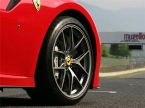 Michelin dla najszybszego FERRARI
