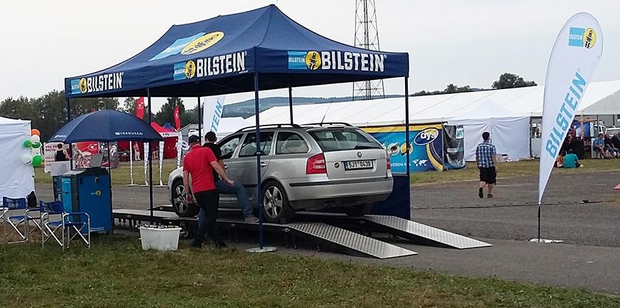 BILSTEIN ponownie udostępnia polskim kierowcom tester zawieszenia