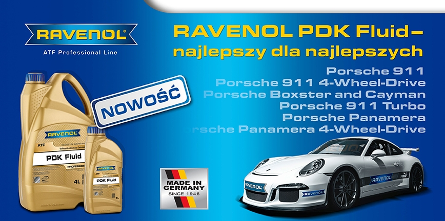 RAVENOL PDK Fluid – płyn ATF do skrzyń Porsche