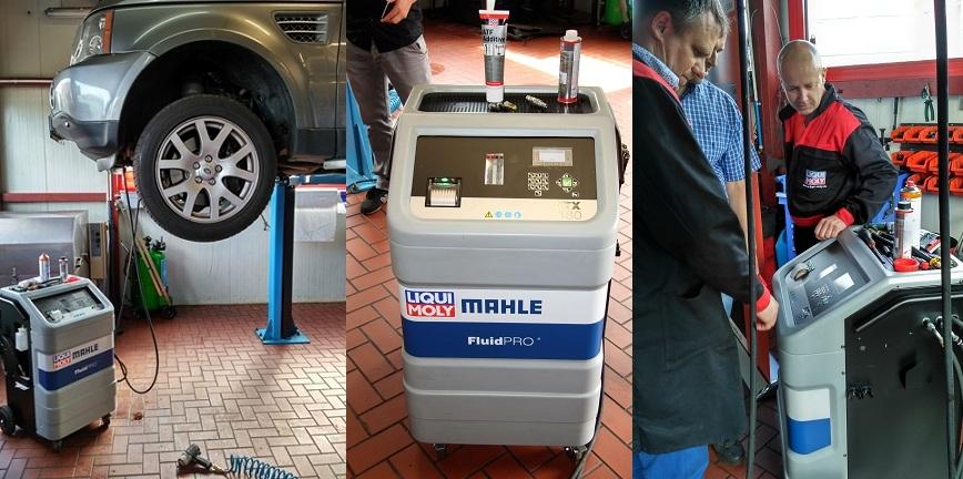 ATX 180 - urządzenie do dynamicznej wymiany oleju w automatach