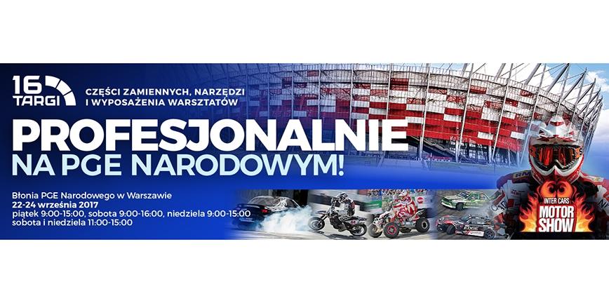 16. Targi Inter Cars we wrześniu na Narodowym!