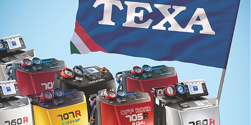 Texa z nową kampanią reklamową. Promuje stacje do klimatyzacji z serii Konfort
