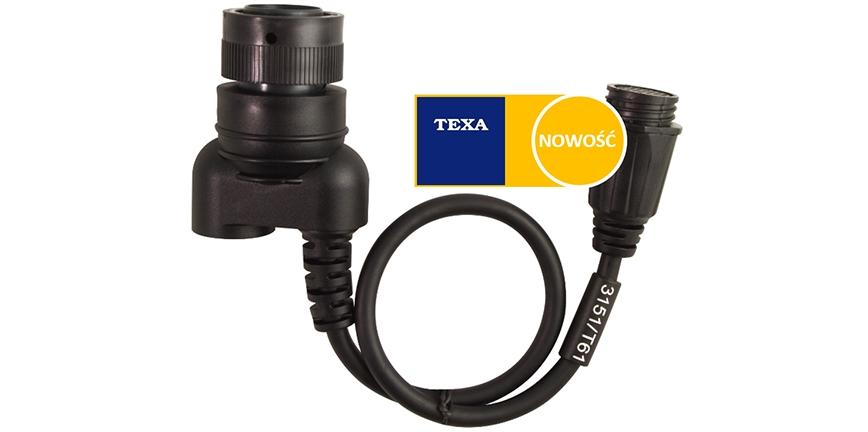Nowość TEXA - OFF-HIGHWAY: dostępny kabel 3151/T61