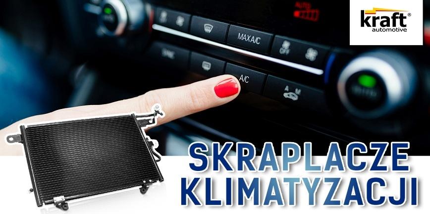 Skraplacze Kraft Automotive już w sprzedaży