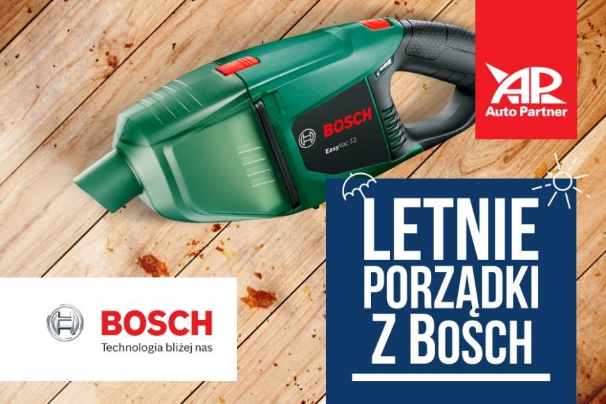 Nowa promocja w Auto Partner: letnie porządki z Bosch