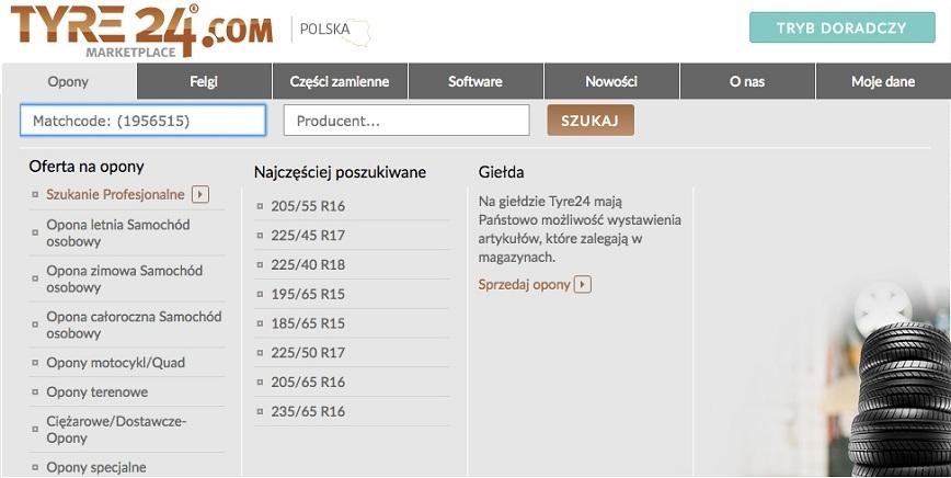 Tyre24: szybka realizacja zamówień i inteligentna wyszukiwarka opon