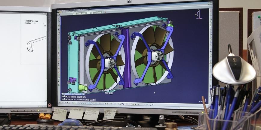 BSPL - ekspert techniczny w zakresie układów chłodzenia - na targach autobusowych