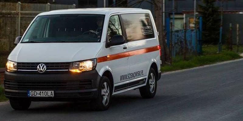 Ukradziono samochód firmowy z firmy SOSNOWSKI