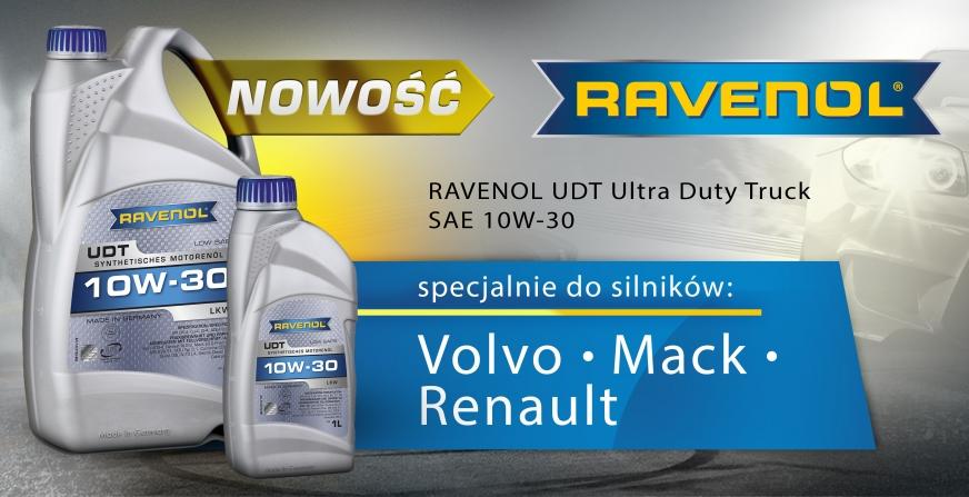 Nowość w ofercie: RAVENOL UDT Ultra Duty Truck 10W-30