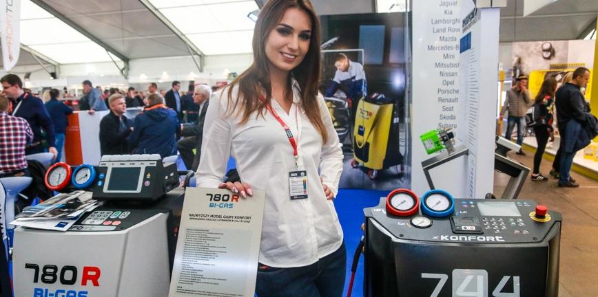 Hostessy na targach Inter Cars 2017 [FOTO]