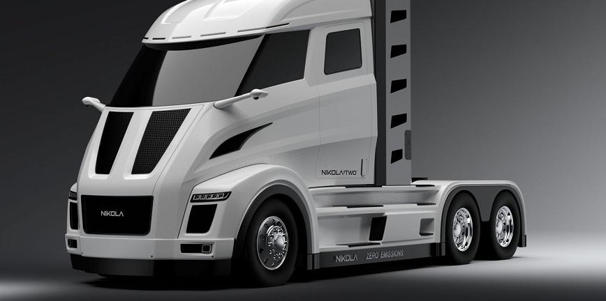 Elektryczna oś dla pojazdu ciężarowego dalekiego zasięgu