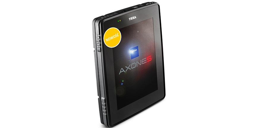 Texa Axone 5 - światowa premiera tabletu warsztatowego