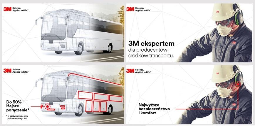3M: technologie dla branży transportowej