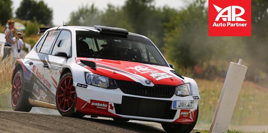 Domowy rajd dla Auto Partner Rally Team