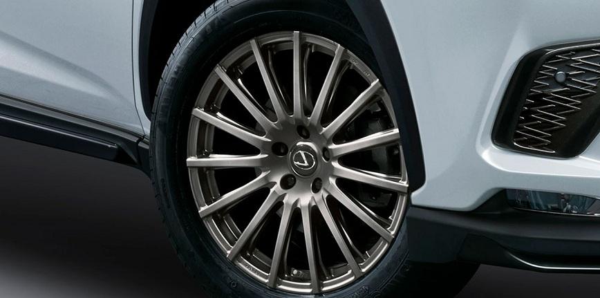 Pakiet tuningowy TRD dla nowego Lexusa NX F SPORT
