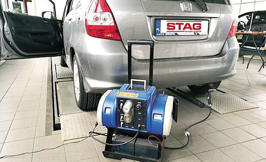 Zasilanie silnika benzynowego LPG a emisja spalin