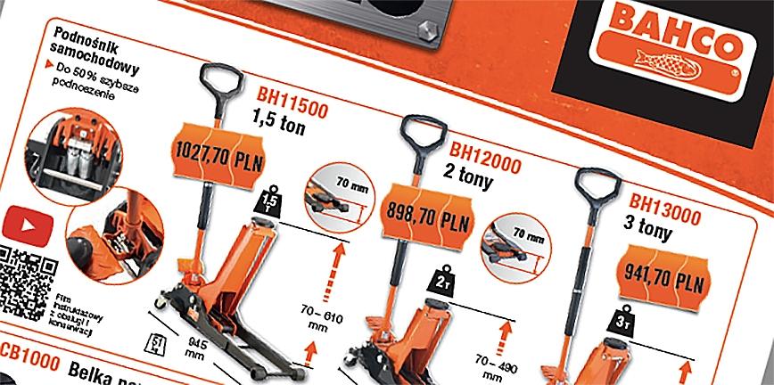 Bahco zwiększa gamę narzędzi motoryzacyjnych w promocyjnej cenie