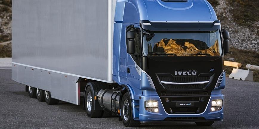 Ciężarówki zasilane gazem ziemnym?