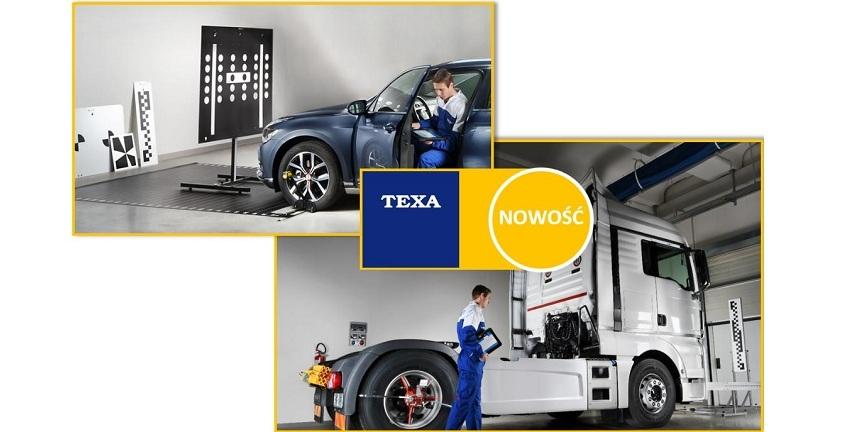 Żywy Warsztat TTM: TEXA przedstawi zestaw kalibracji telekamer