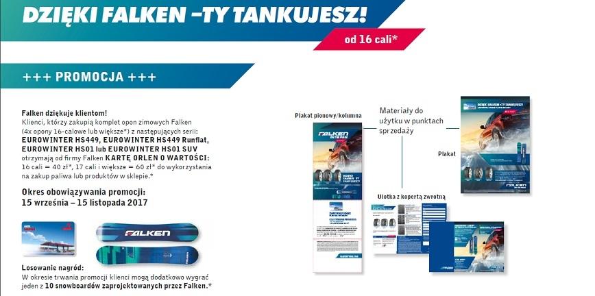 """Zimowa promocja """"FALKEN sagt Tanke"""