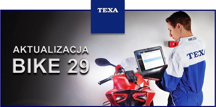 Aktualizacja oprogramowania TEXA IDC5 BIKE 29
