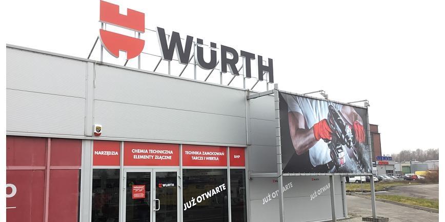 Würth Polska otwiera nowe sklepy stacjonarne