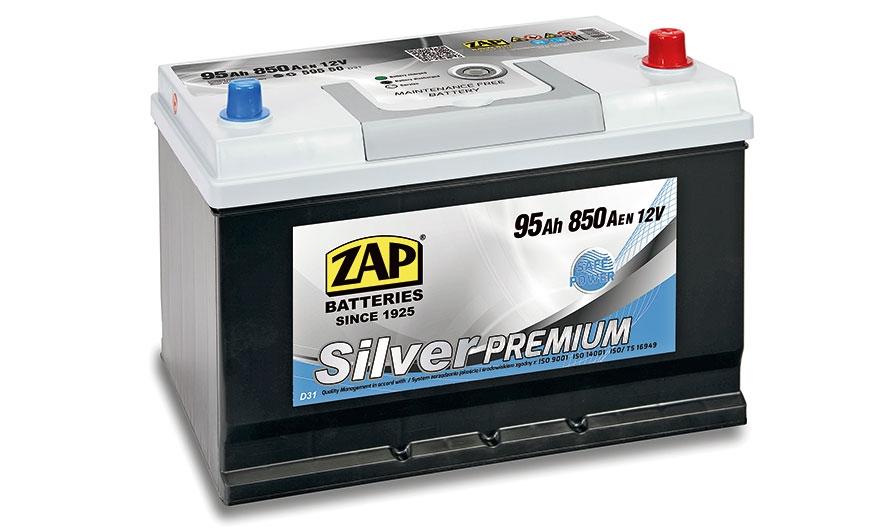 Srebrne akumulatory ZAP