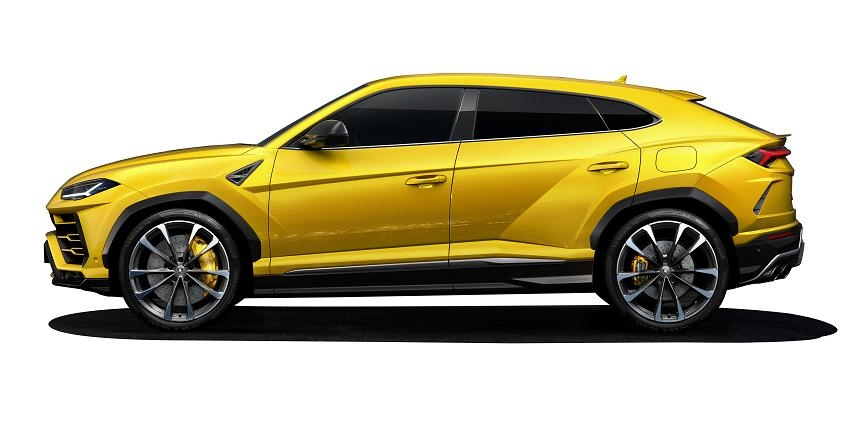 Sześć rodzajów opon dla Lamborghini Urus