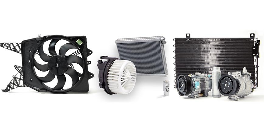 70 nowych części DENSO do układów chłodzenia silnika i klimatyzacji