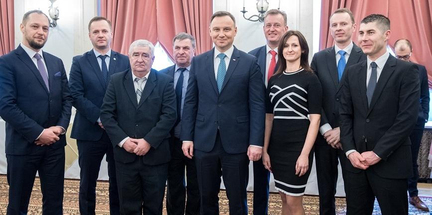 Polska Grupa Motoryzacyjna w Pałacu Prezydenckim