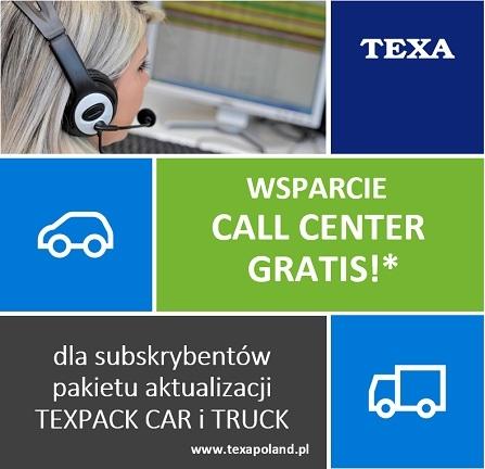 TEXA: wsparcie Call Center gratis. Kto może skorzystać?