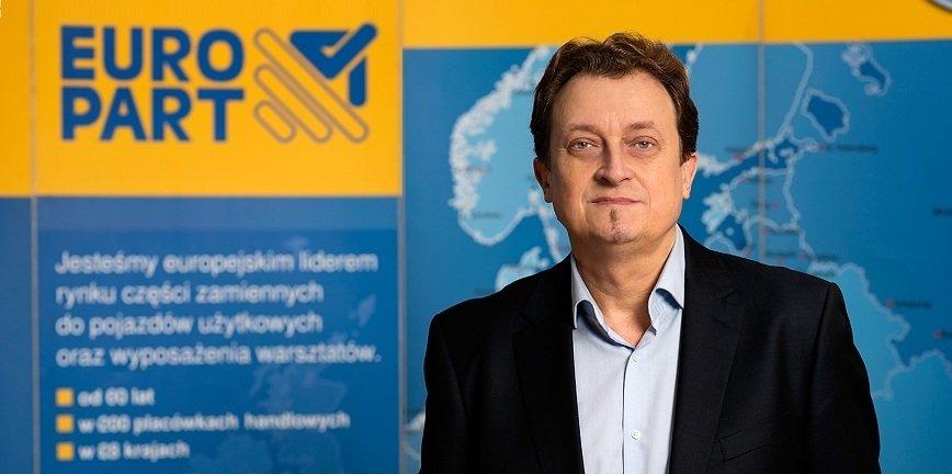 Robert Krawczyk nowym prezesem zarządu EUROPART Polska