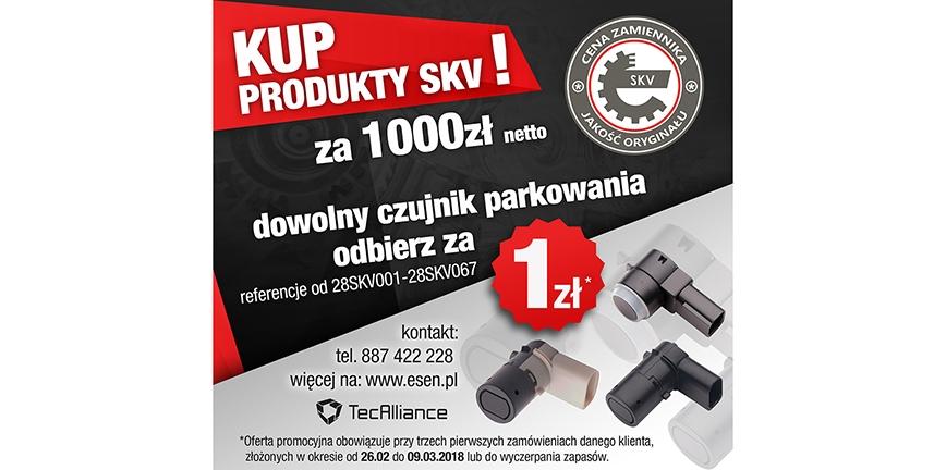 Promocja na produkty SKV!