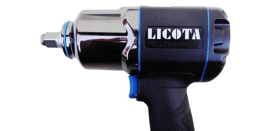 Targowe promocje: klucz pneumatyczny Licota