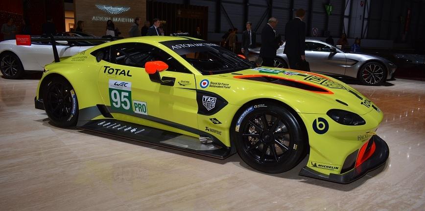 Total i Aston Martin odnawiają globalne partnerstwo