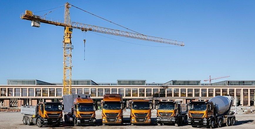 Ciężarówki branży budowlanej na ... gazie ziemnym?