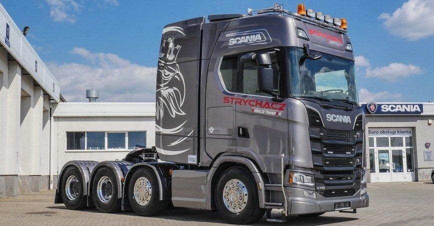 Pierwsza Scania nowej generacji do transportu ładunków ponadnormatywnych