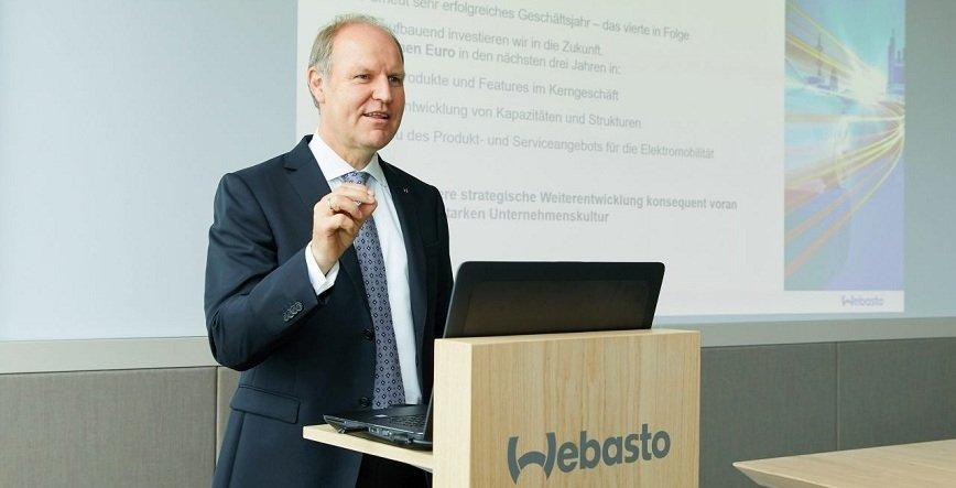 Webasto zwiększa przychody i przyspiesza inwestycje w rozwiązania dla elektromobilności