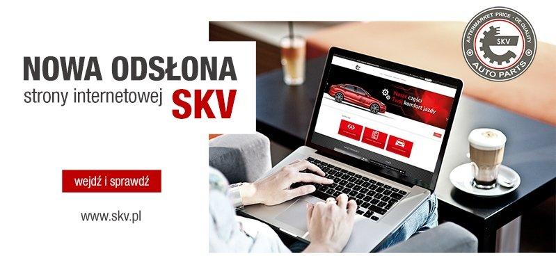 Nowa odsłona strony internetowej SKV