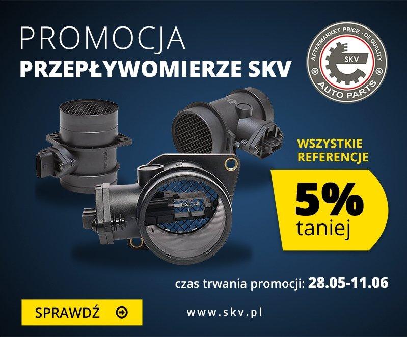Promocja: przepływomierze SKV