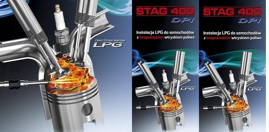 STAG 400.4 DPI z normą R115. LPG dla aut z bezpośrednim wtryskiem paliwa