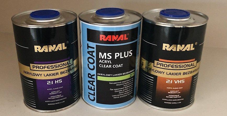 MS, HS czy VHS – czyli jakiej klasy lakier bezbarwny najlepiej wybrać?