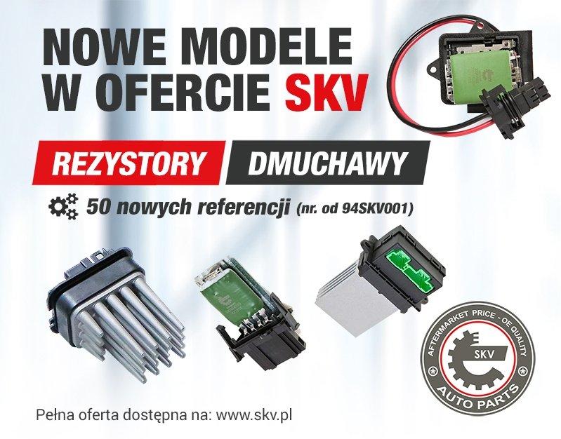 Nowe modele rezystorów SKV