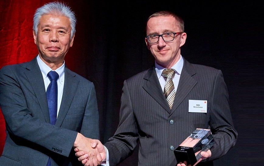 NSK Needle Bearing Poland nagrodzona przez Toyota Motor Europe