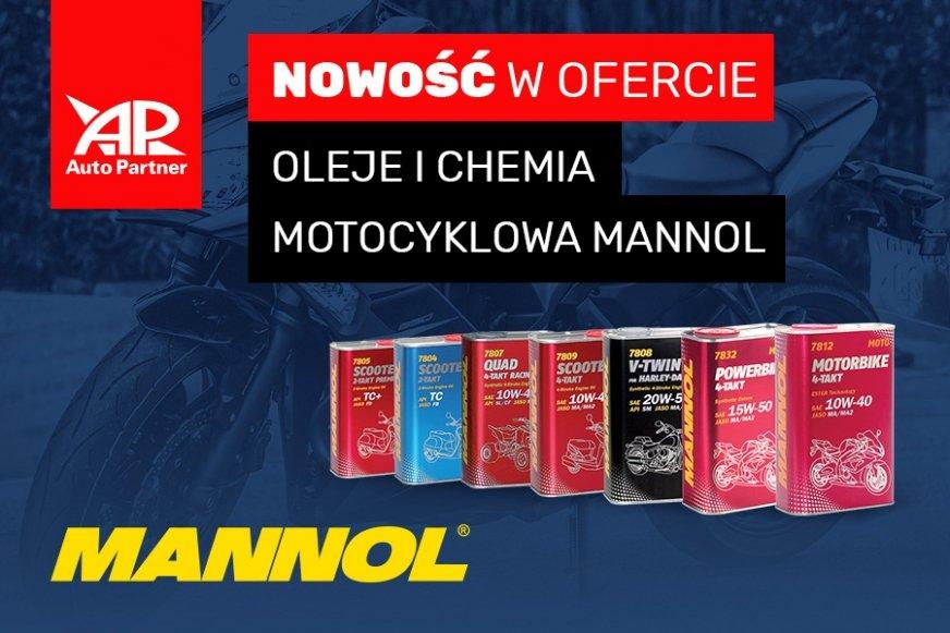 Nowość w ofercie motocyklowej Auto Partner – oleje Mannol