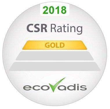 Axalta uhonorowana złotym medalem EcoVadis
