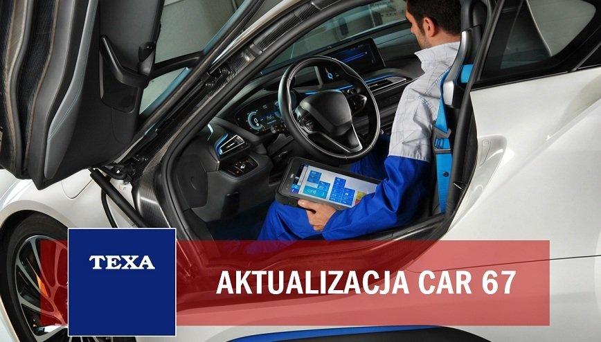 TEXA informuje o aktualizacji CAR67