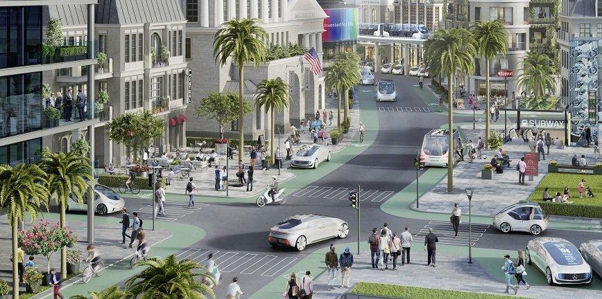Bosch i Daimler: metropolia kalifornijska miastem pilotażowym dla autonomicznej jazdy