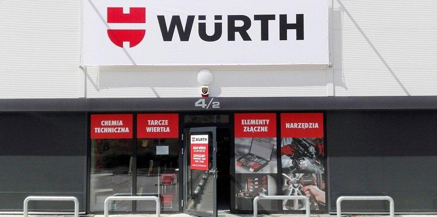 Würth Polska otwiera kolejne sklepy