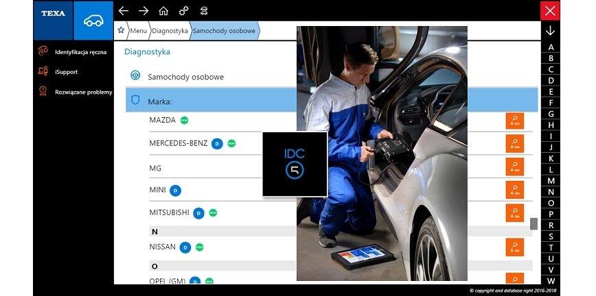 TEXA: oprogramowanie TEXA IDC5 CAR i jego dodatkowe możliwości